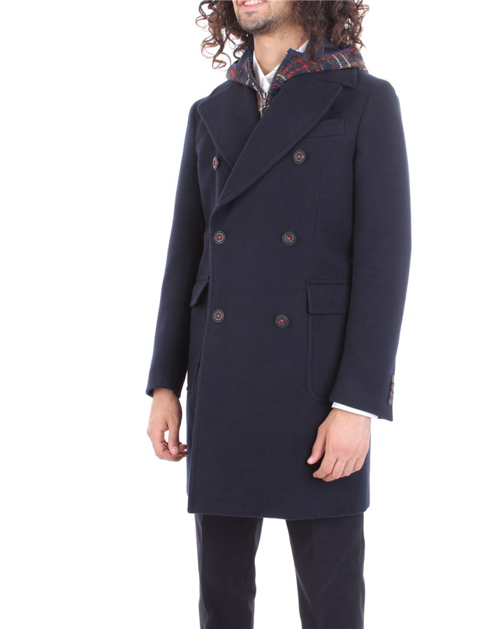 MANUEL RITZ Coat Blue