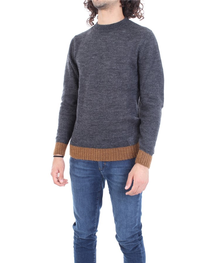 MANUEL RITZ Sweater Grey
