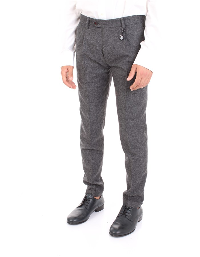MANUEL RITZ Trousers Grey