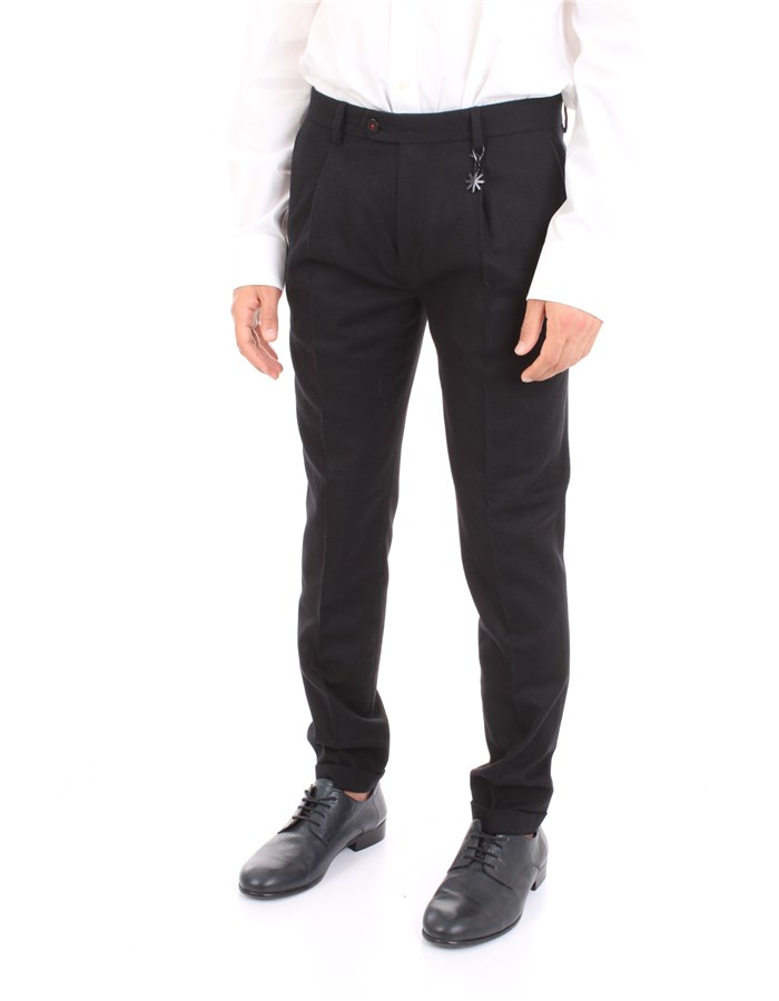 MANUEL RITZ Trousers Black