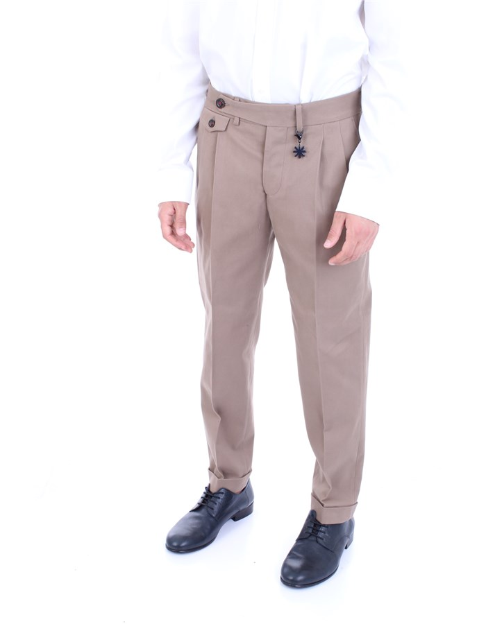 MANUEL RITZ Trousers Beige