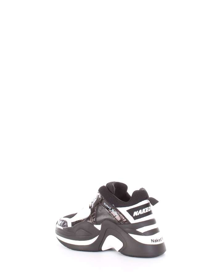 NAKED WOLFE Sneakers Black
