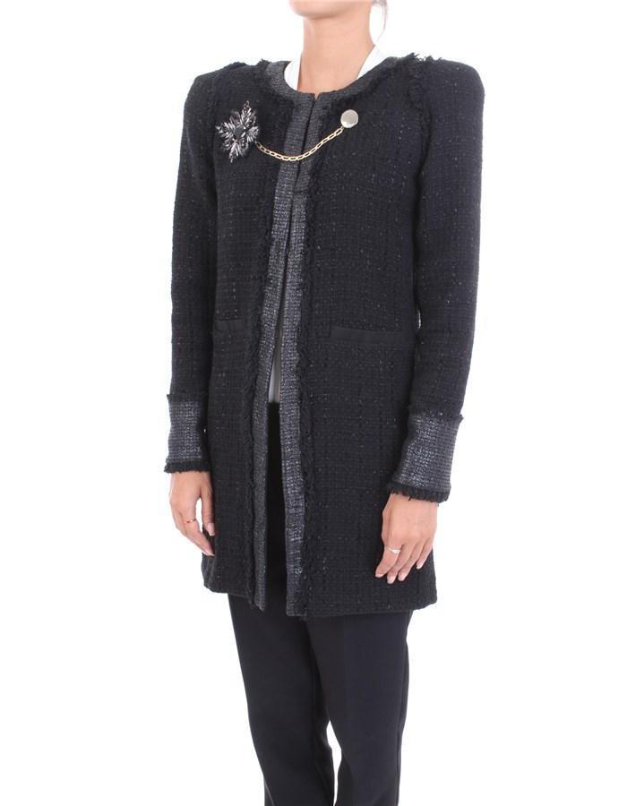 PINKO Coat Black