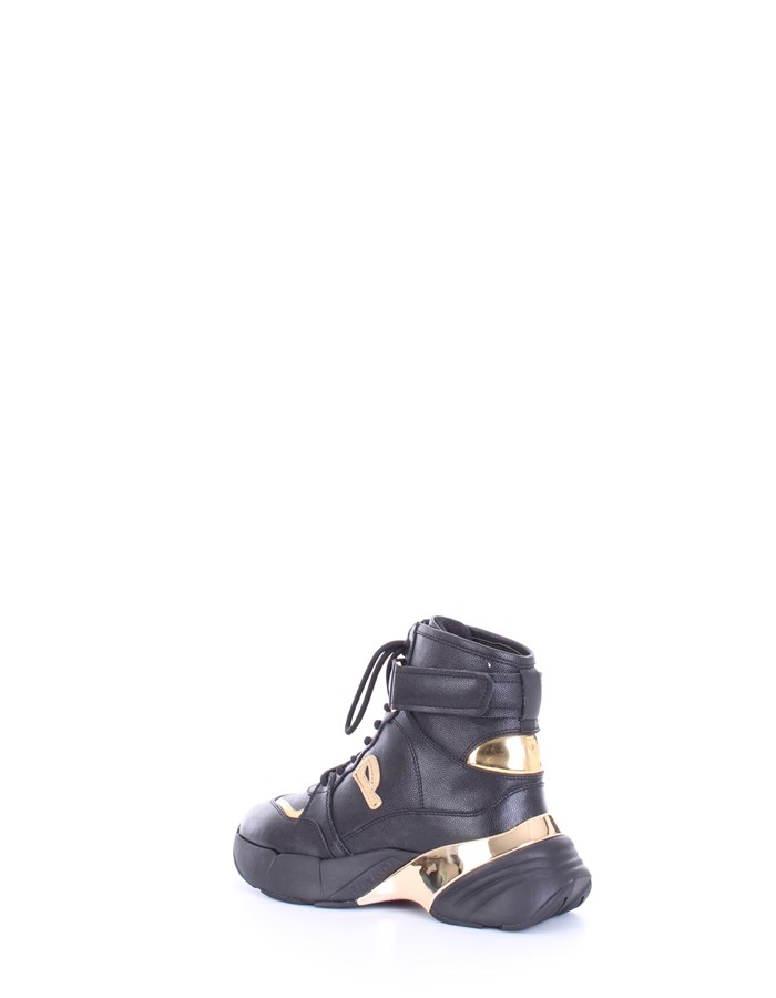 PINKO Sneakers Black gold