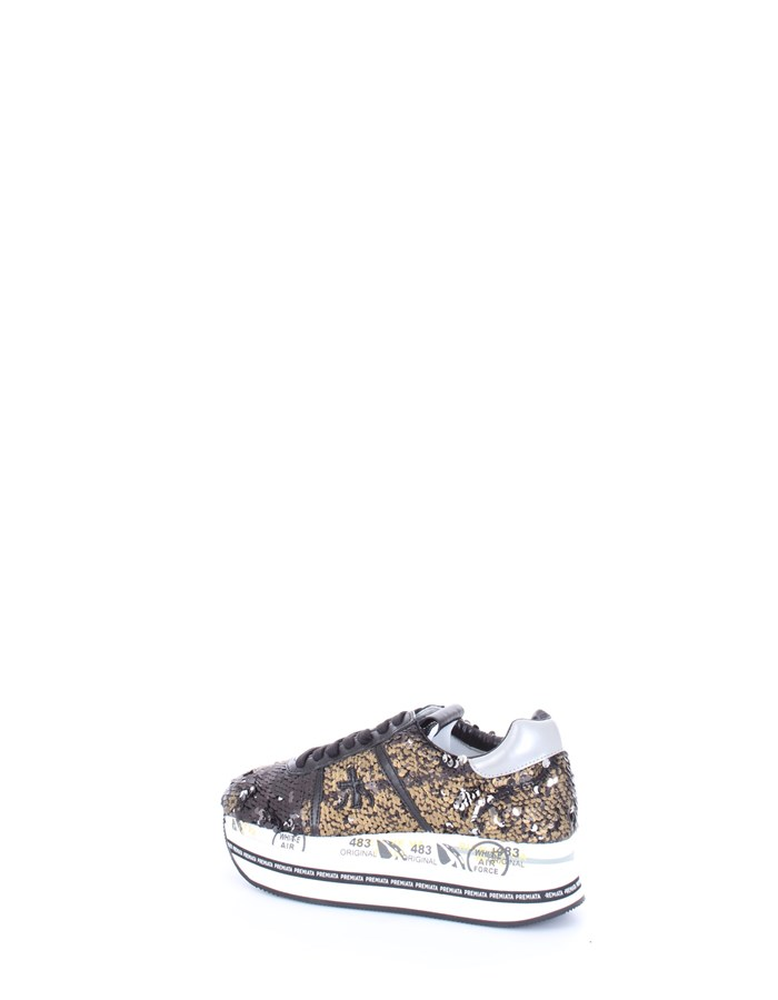 PREMIATA Sneakers Black gold