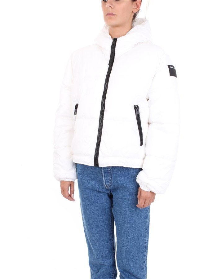 REPLAY Coat White