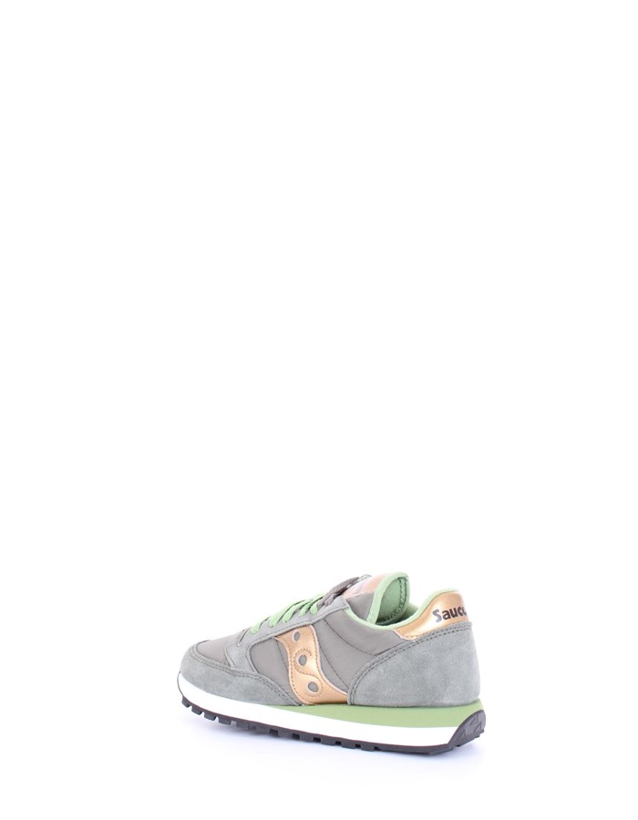 SAUCONY Sneakers Olive gold