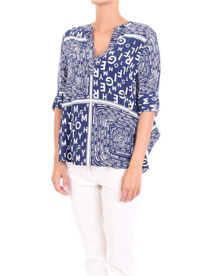 TOMMY HILFIGER Blouse Blue