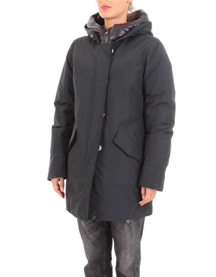 WOOLRICH Coat Navy