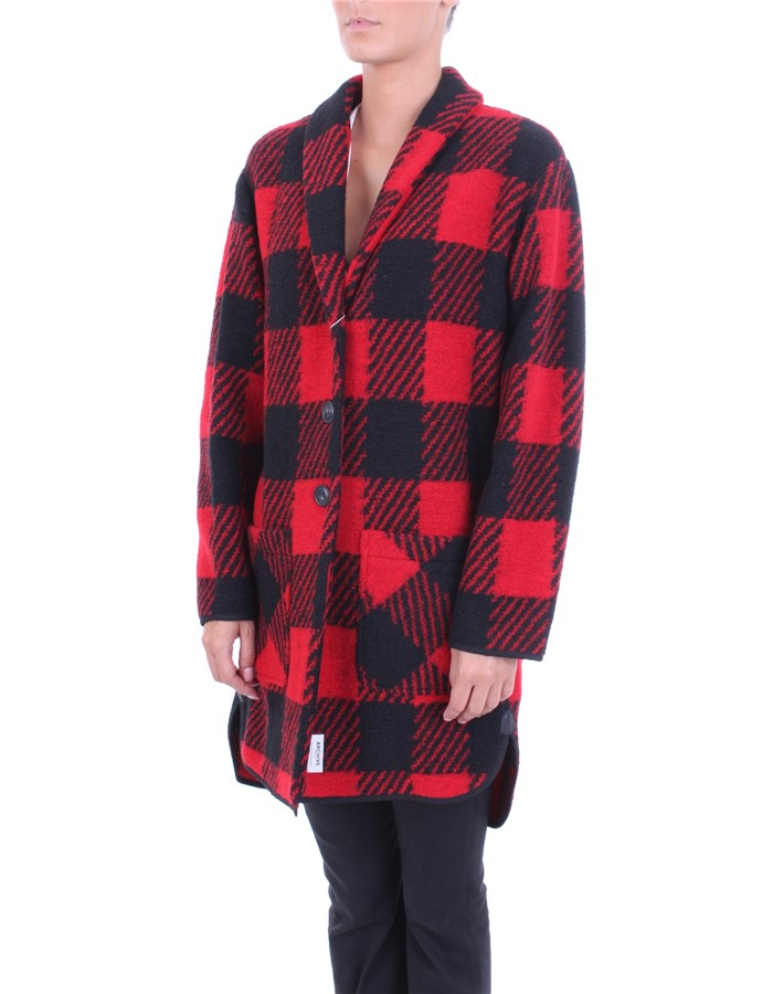 WOOLRICH Coat Red