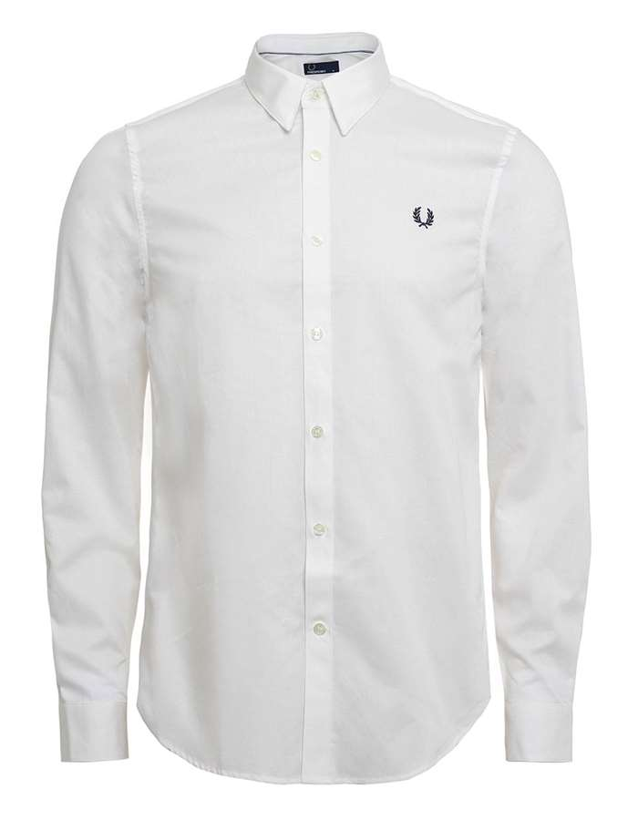 FRED PERRY Camicia Bianco