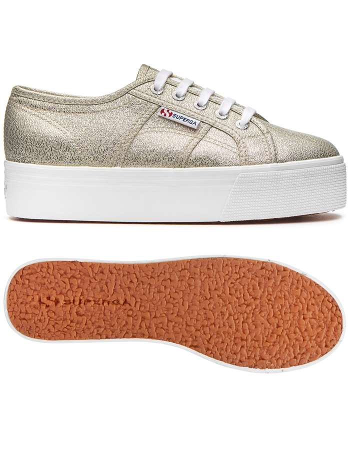 SUPERGA Scarpe Donna Sneakers Platino S009TC0