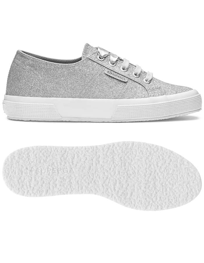SUPERGA Sneakers Silver