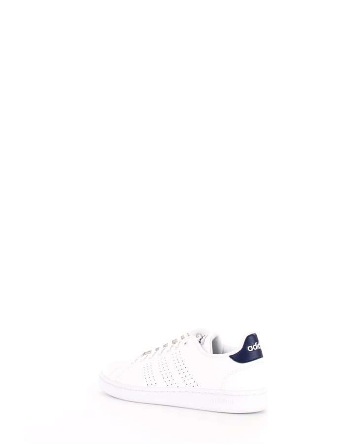 ADIDAS Sneakers White blue