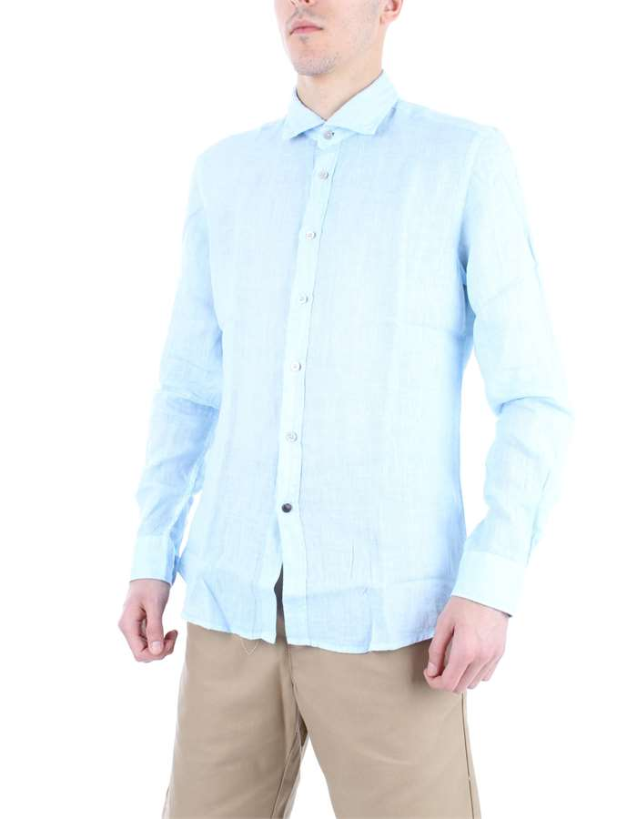 ALLEY DOCKS Shirt Light blue