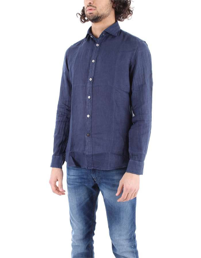 ALLEY DOCKS Shirt Blue