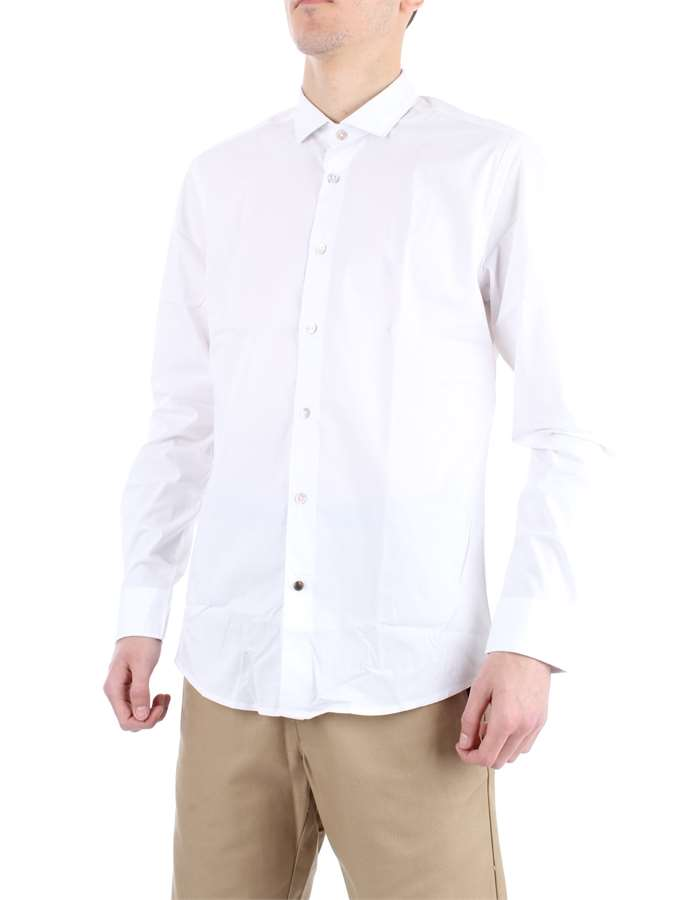 ALLEY DOCKS Shirt White
