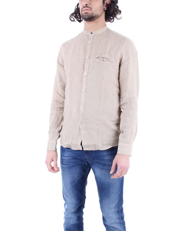 ALLEY DOCKS Shirt Beige