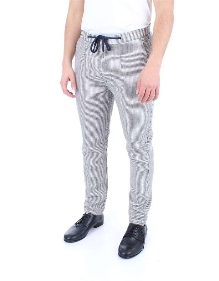 ALLEY DOCKS Trousers Rigato