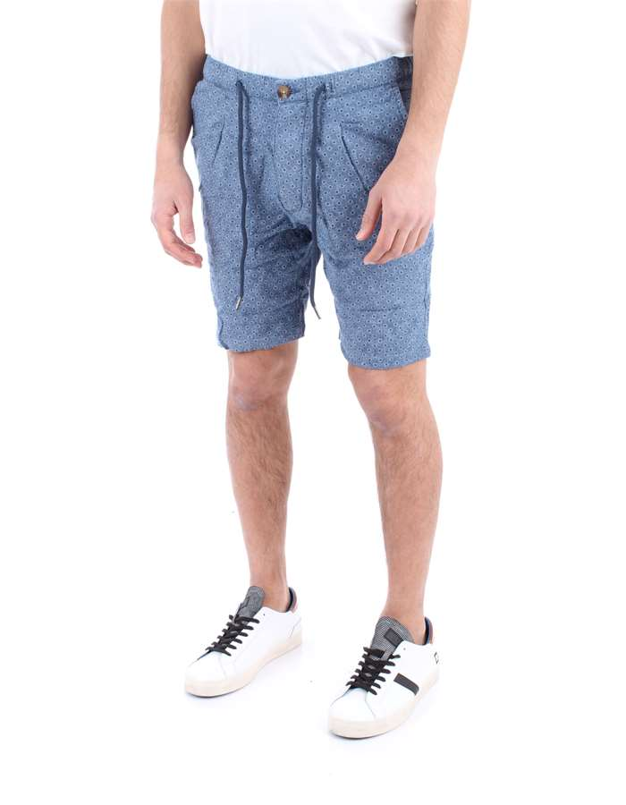 ALLEY DOCKS Shorts Blue