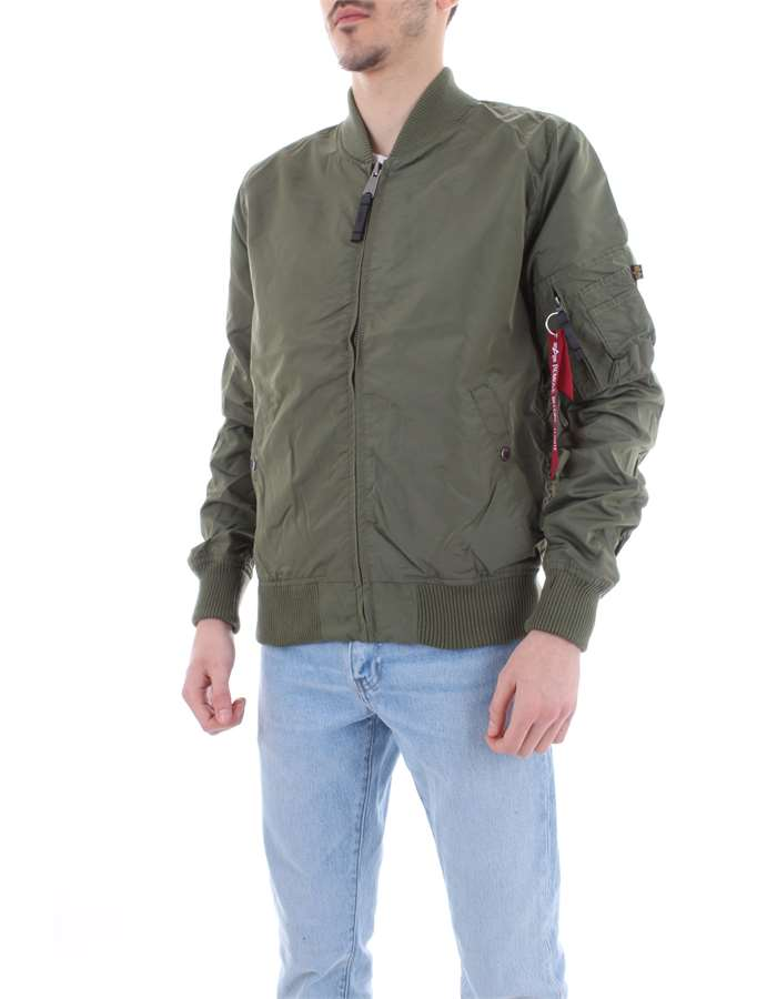 ALPHA INDUSTRIES Giubbotto Verde sage