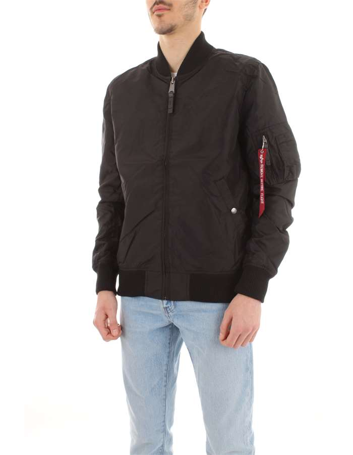 ALPHA INDUSTRIES Giubbotto Black