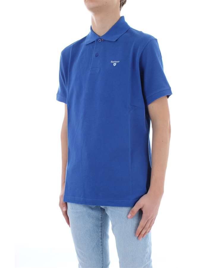 BARBOUR Polo shirt Electric blue