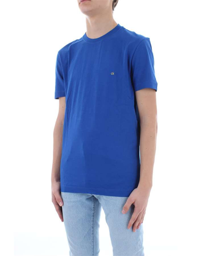 CALVIN KLEIN T-shirt Royal