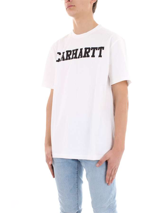 CARHARTT T-shirt White black