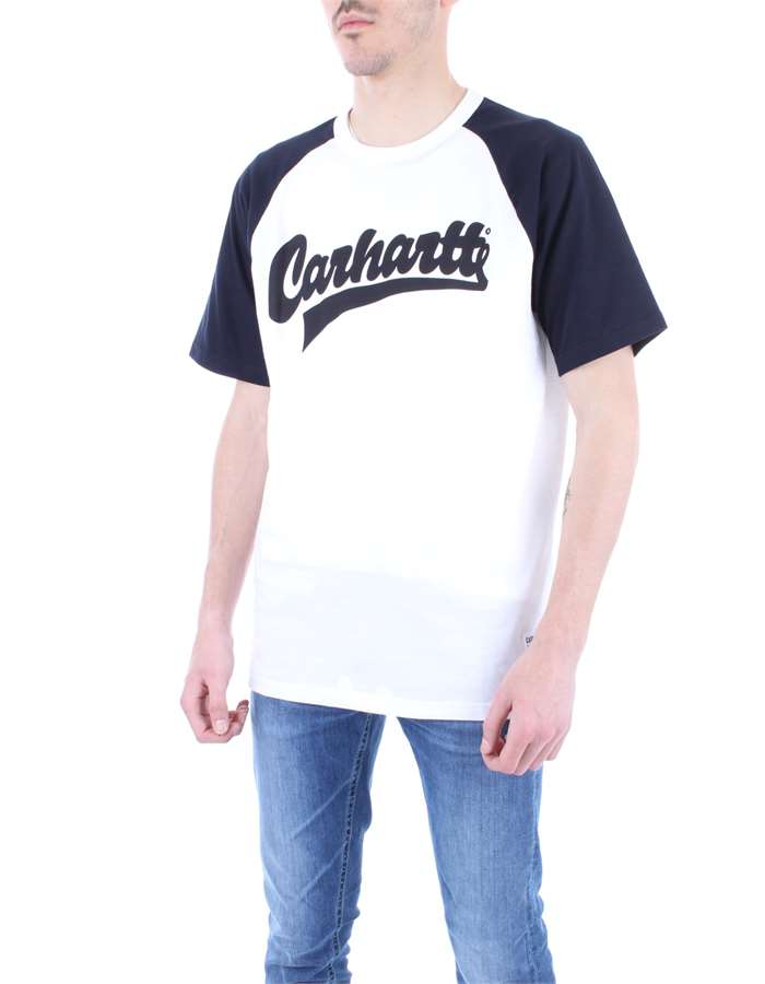 CARHARTT T-shirt Blue white