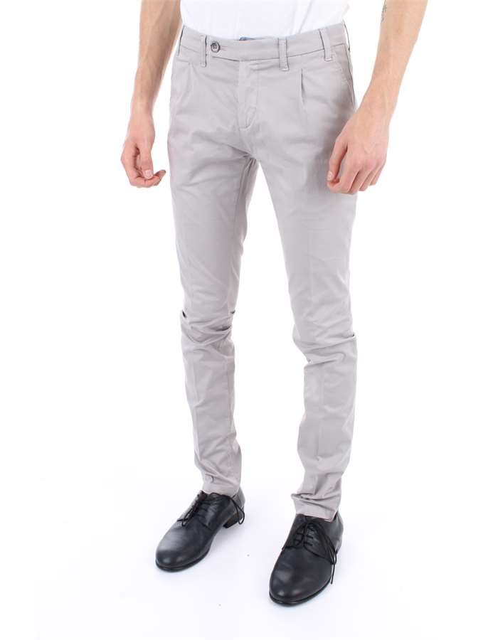 CF 12 MILANO Trousers Pearl grey