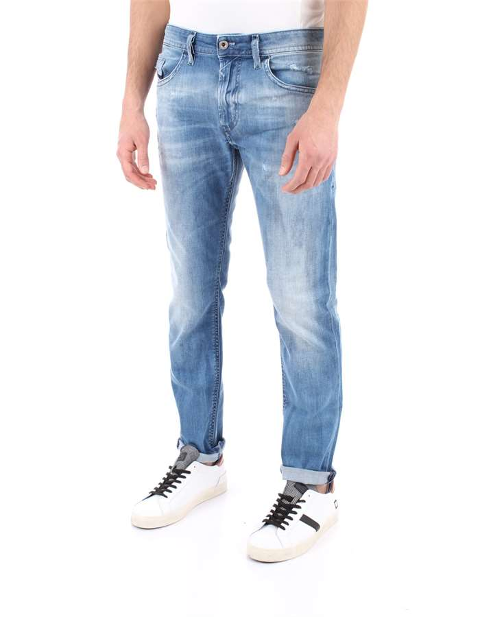 DIESEL Jeans Ripped blue