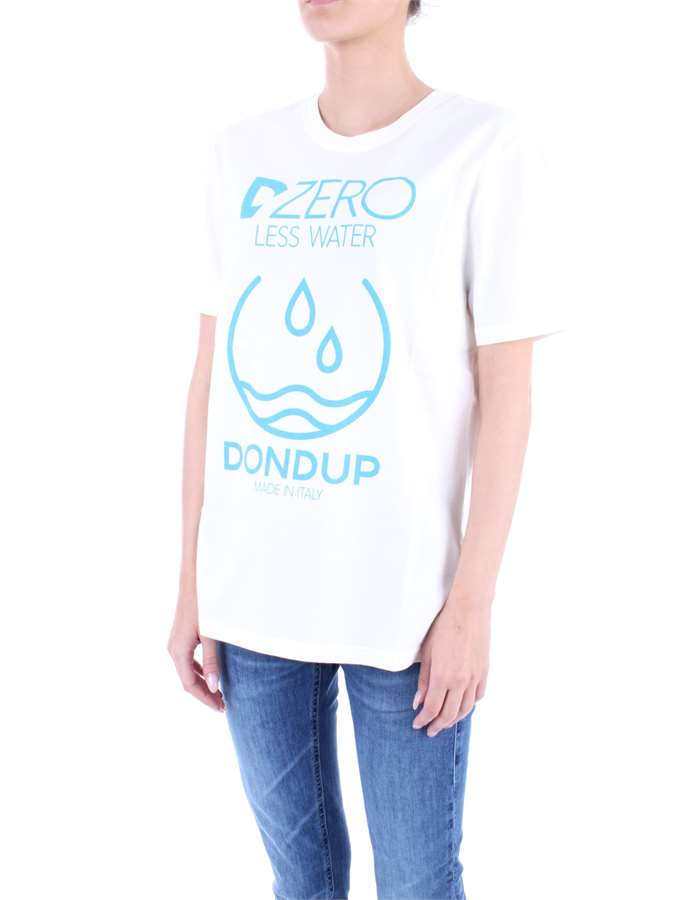 DONDUP T-shirt Cream