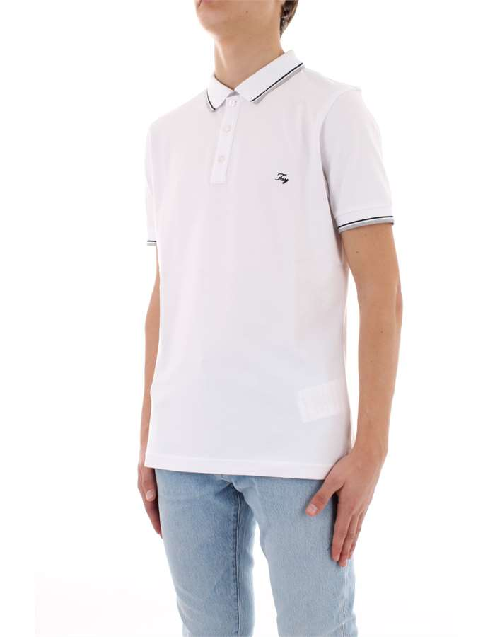 FAY Polo shirt White