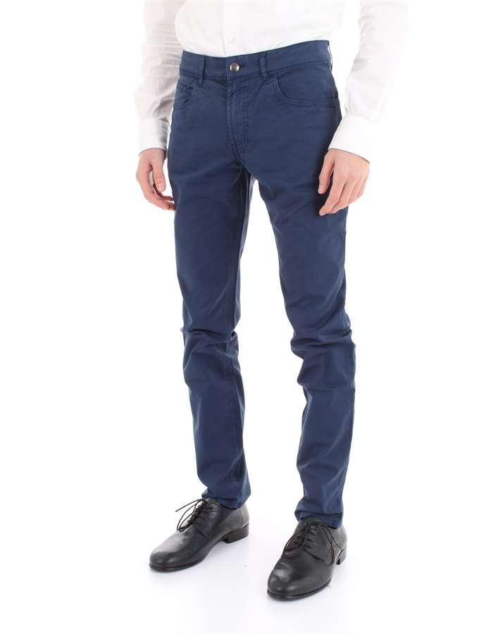 FAY Trousers Blue