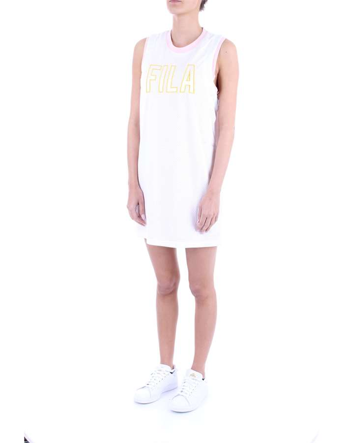 FILA Dress White pink