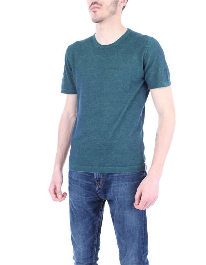 JURTA T-shirt Blue green