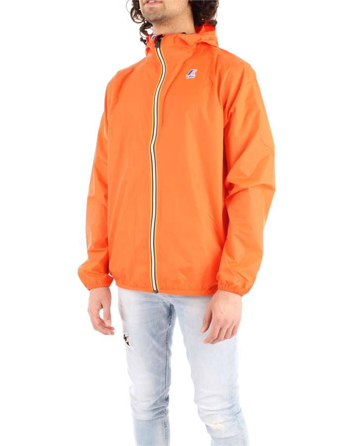 KWAY Coat Orange
