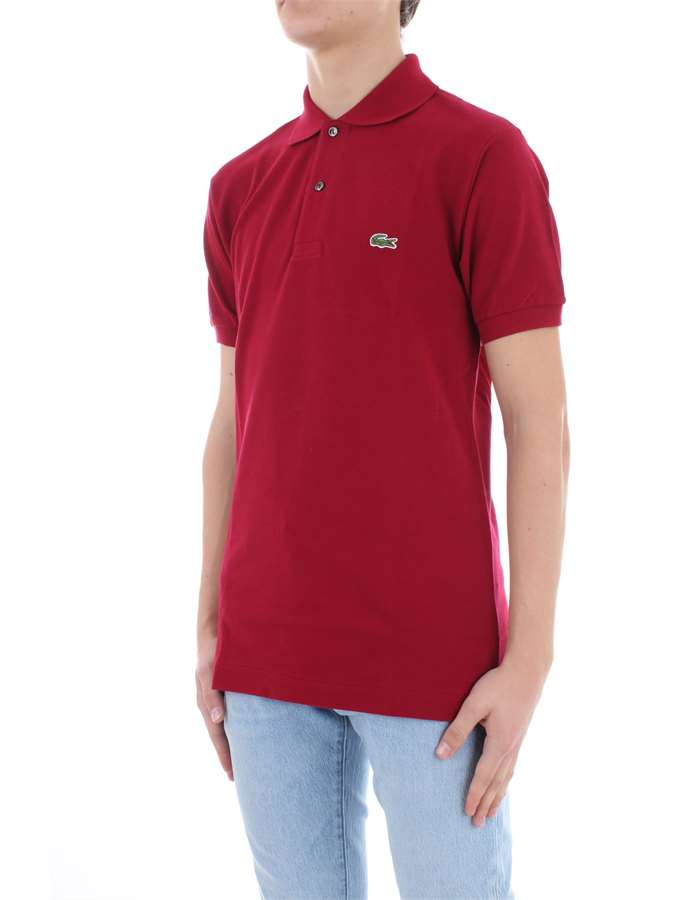 LACOSTE Polo shirt Bordeau