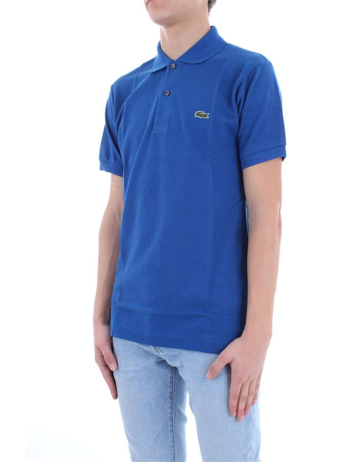 LACOSTE Polo shirt Electric blue