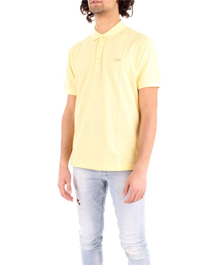 LACOSTE Polo shirt yellowish