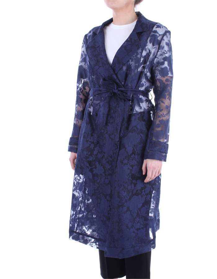 LAFTY LIE Coat Blue