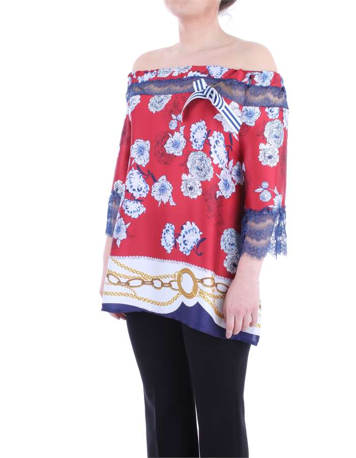 LAFTY LIE Blouse Red