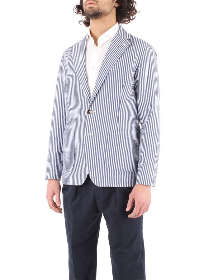 LARDINI Jacket Heavenly white