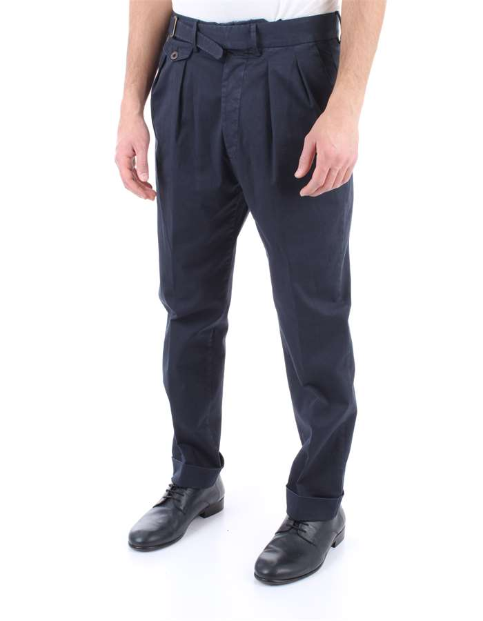 LARDINI Trousers Blue