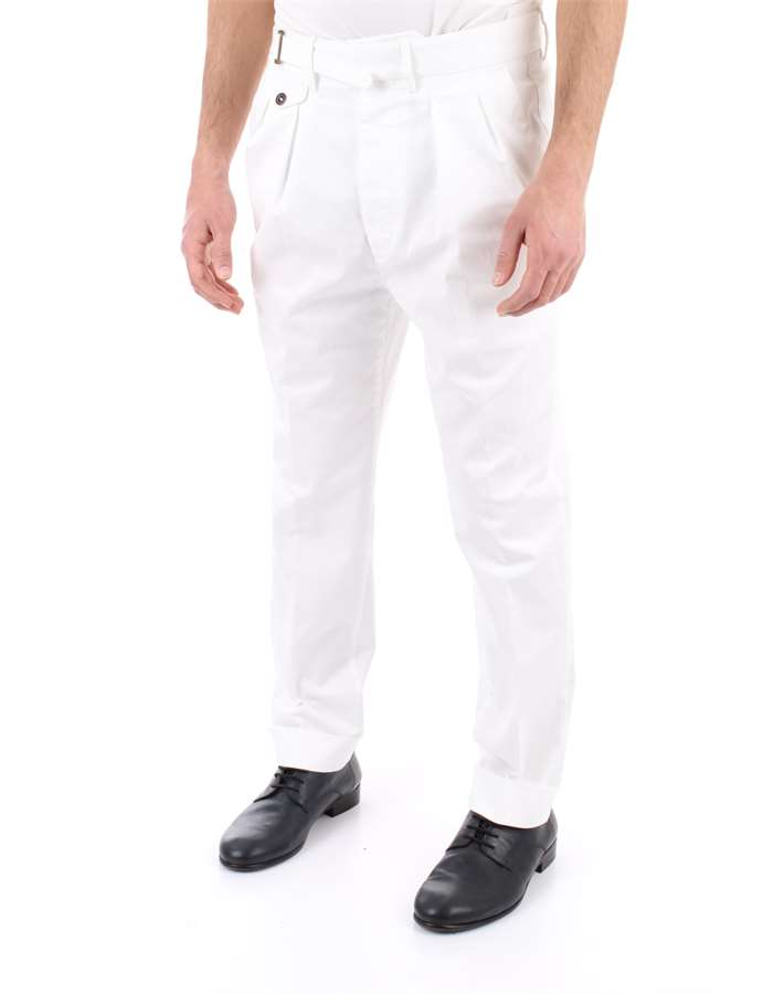LARDINI Trousers White
