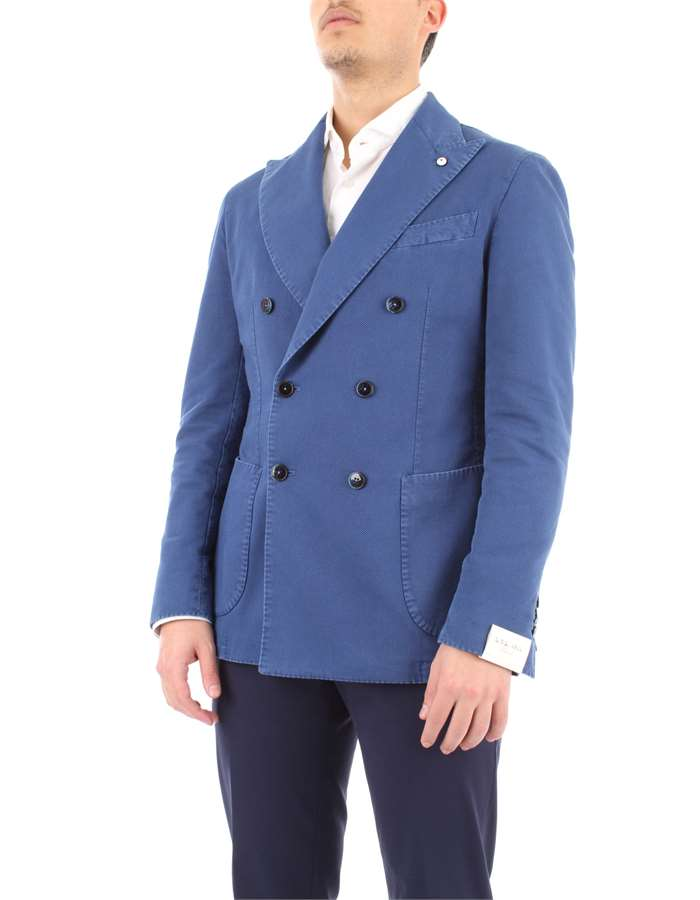 L.B.M. 1911 Jacket Light blue