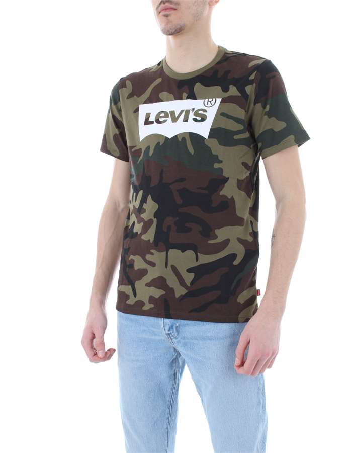 LEVI'S T-shirt Camouflage