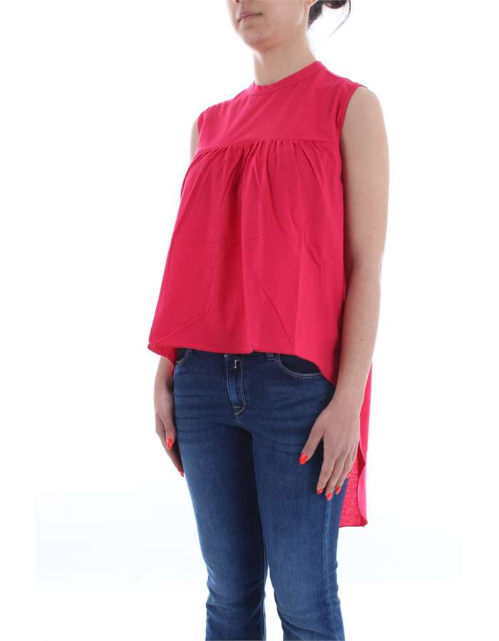 MANILA GRACE T-shirt Cherry red