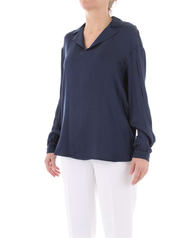 MANILA GRACE Blouse Blue